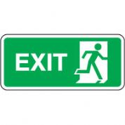 Safe Safety Sign - Exit Right 083